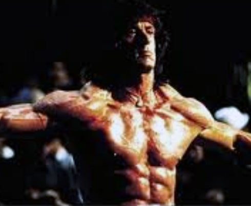 Rambo Workout Chest Abs Arms Sylvester Stallone
