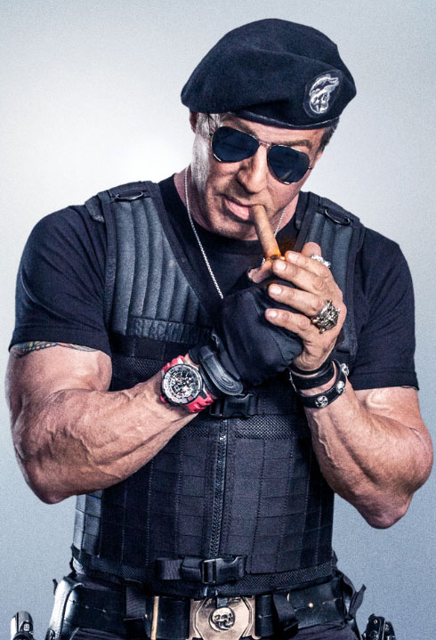 Sylvester Stallone Expendables Workout | Pop Workouts
