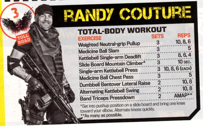 Randy Couture Workout: Lean & Mean