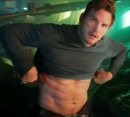 Chris pratt workout from andy dwyer to superhero pop workouts chris pratt workout abs thecheapjerseys Images