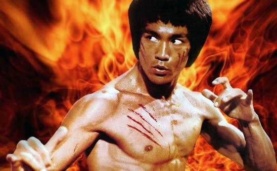 share the bruce lee workout