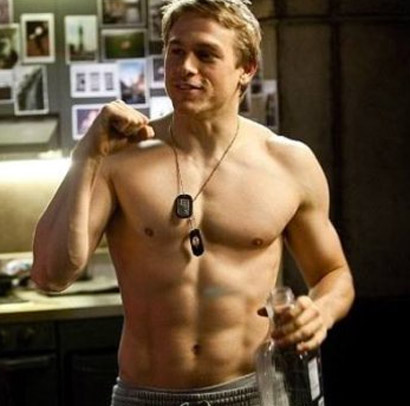 Charlie Hunnam Workout Sons Of Anarchy Pop Workouts