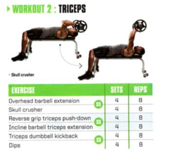 Vin Diesel Triceps Workout