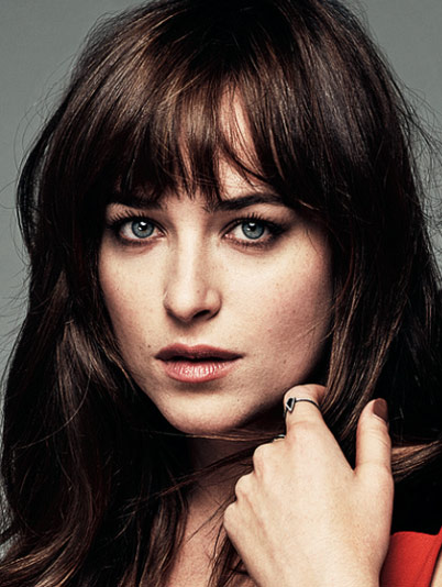 Dakota Johnson Face Green Eyes