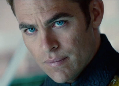 Chris Pine workout motivation was for Star Trek
