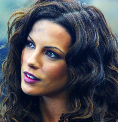 Kate Beckinsale Workout Face
