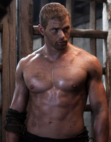 Kellan Lutz Hercules Workout Routine Shows His Abs Chest