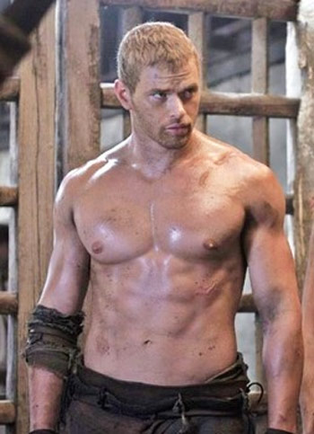 Kellan Lutz Hercules Workout Shirtless Abs