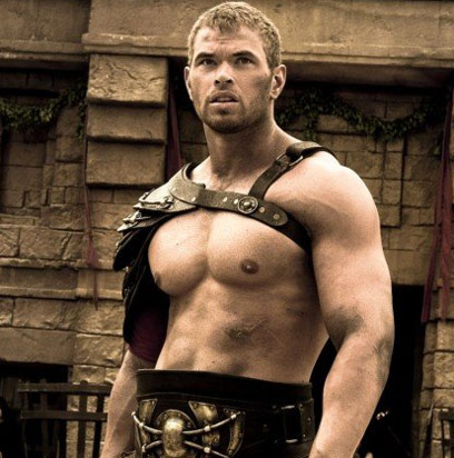 Kellan Lutz Workout Superhero Hercules Shows Off Big Muscles Chest And Biceps