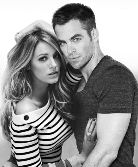 Chris pine dating relationships shown with Blake Lively
