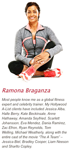 3-2-1-Workout-Ramona-Braganza caption talking about all the celebrities she has trained including JLH