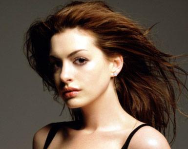 Anne Hathaway Face Hair