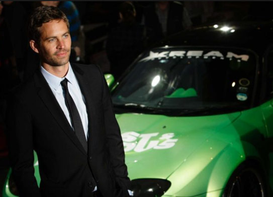 Paul Walker Diet Looking Skinny Next to Fast and the Furious Car