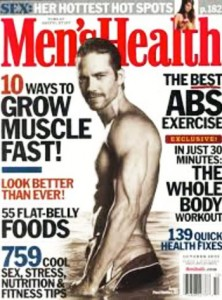 Paul Walker Workout Men's Health