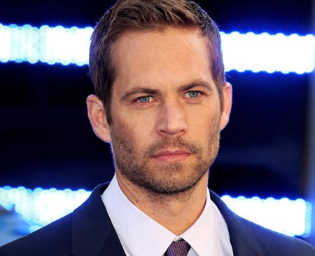 Share the Paul Walker Workout portrait of his face in suit