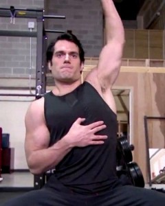 Henry Cavill Weight Gain Superman