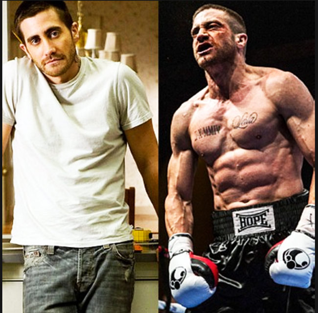 Jake gyllenhaal quot southpaw quot workout 2 000 sit ups a day pop