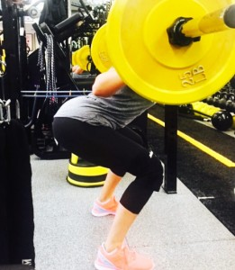 Khloe Kardashian Workout Body Squats Shoes