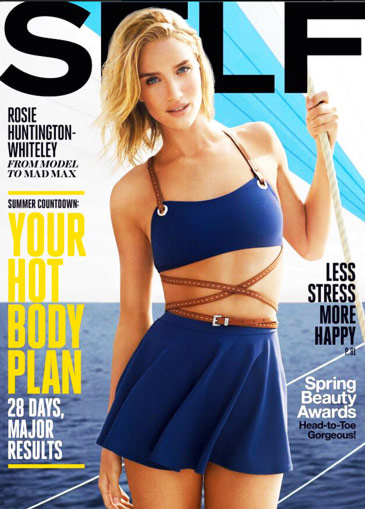 Rose Huntington-Whiteley Diet Self Mag