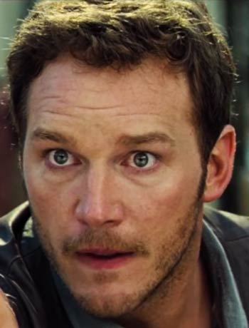 Chris Pratt Face Jurassic World