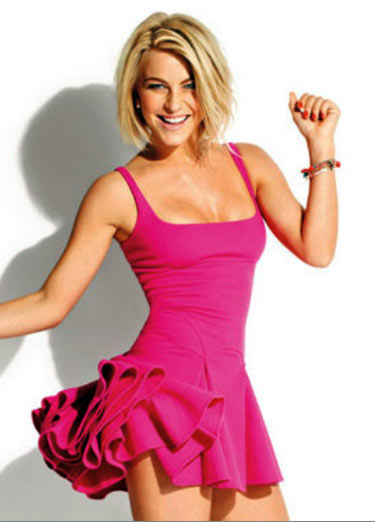 Julianne Hough Workout Body Dress