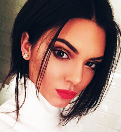 Kendall Jenner Face