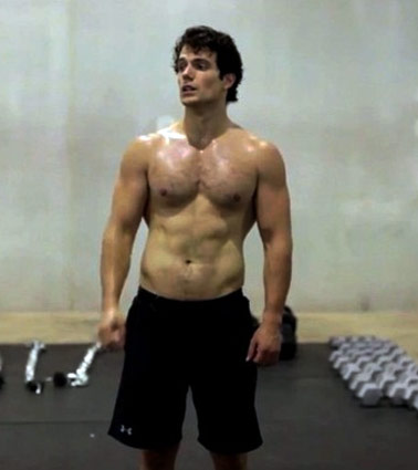 Superman Workout Routine Week 3 Henry Cavill Arms Abs