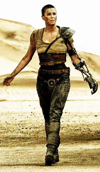 Charlize Theron Fury Road Mad Max plays Imperator Furiosa