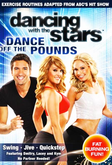 Dancing With The Stars Workout DVD with Julianne Hough on the Cover