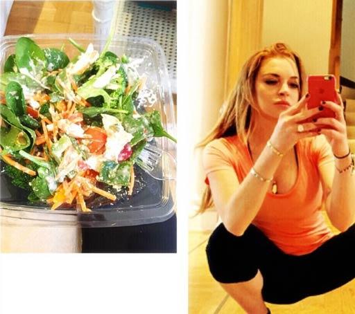 Lindsay Lohan Diet