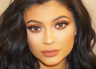 kylie jenner face close up
