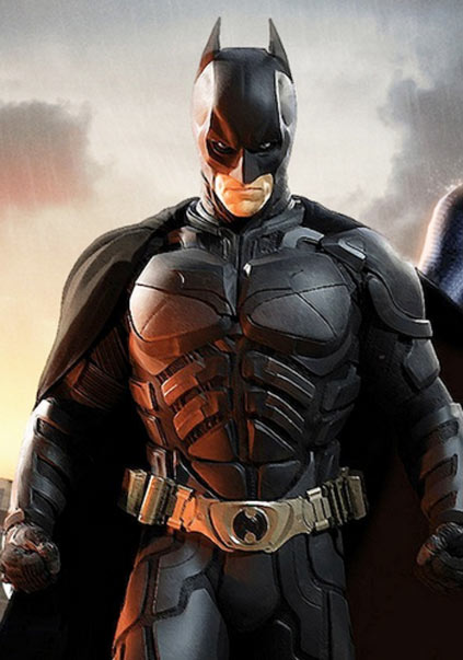 Batman Ripped Ben Affleck in Batman v Superman Movie 2016