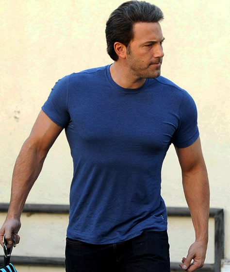 Ben Affleck Chest Upper Body