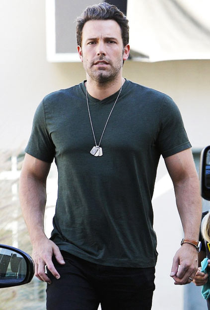 Ben Affleck Walking in Photo