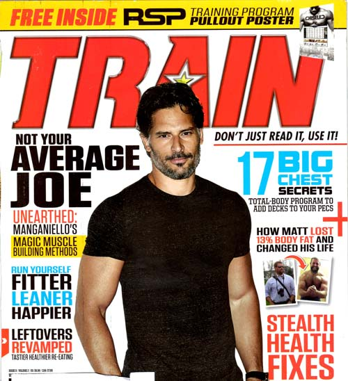 How To Get A Joe Manganiello Body On Magazine Cover