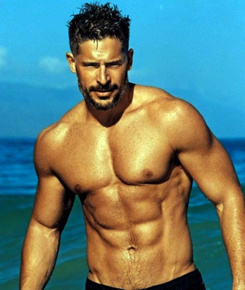 Joe Manganiello Abs 2015 photo at the beach