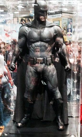 ben affleck batman suit at Comic Con