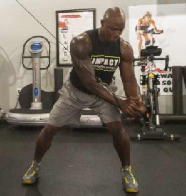 DeMarcus Ware NFL Pass Rusher Workout Arms