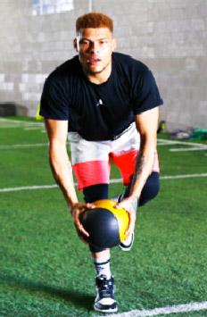 Tyrann-Mathieu-Workout-Medicine-Ball-Deceleration