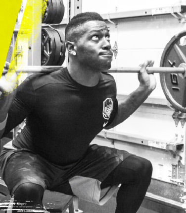 Antonio Brown Workout Box Squat Exercise