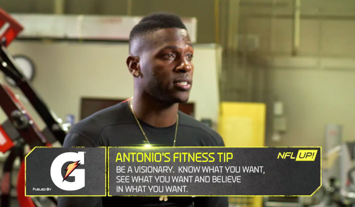 Antonio Brown Fitness Tip Be What You Dream To Be