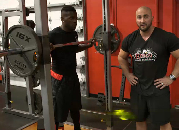 Antonio Brown Workout With his Trainer