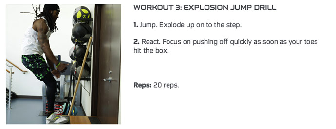 Explosive Jump Drill Richard Sherman Workout