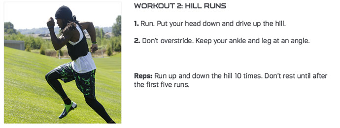 Hill Sprints Richard Sherman