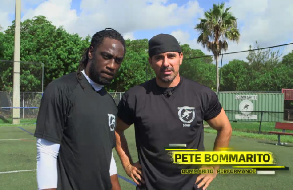 Lardarius Webb Workout With Trainer Pete Bommarito