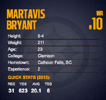 Martavis Brant NFL 10 Pittsburgh Steelers