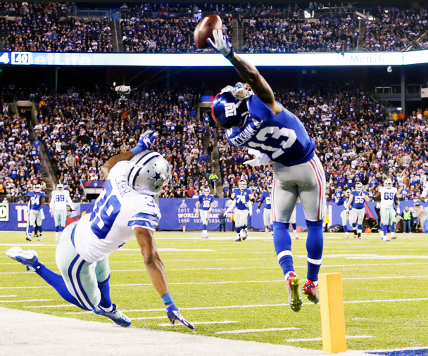 Odell Beckham One-Handed Catch