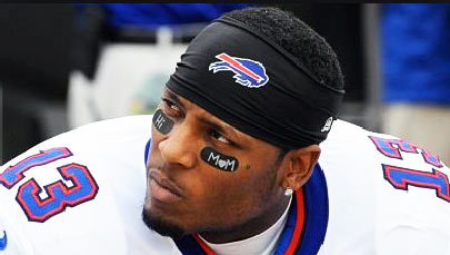 Stevie Johnson NFL Wide Receiver
