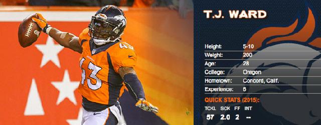 TJ Ward NFL
