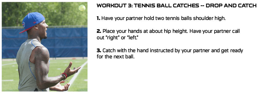 Tennis Ball - Drop & Catch Exercise
